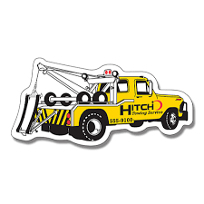 promotional tow truck shaped magnets advertising magnets