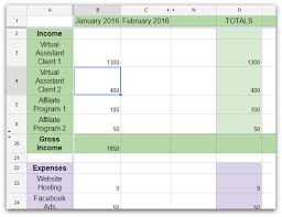 Expense And Profit Spreadsheet How To Do A Profit And Loss Statement When You Re Self Employed