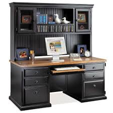 home computer desks with hutch computer desk and hutch with glass