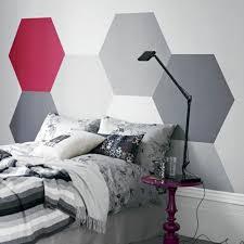 wandgestaltung mit farbe muster schlafzimmer wandgestaltung kreative ideen als inspiration