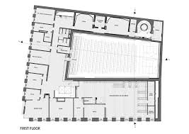 studio floor plan ideas gallery of budapest music center art1st design studio 28