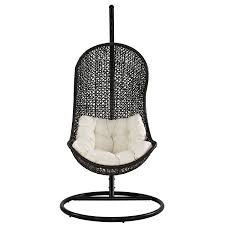 amazon com modway the parlay rattan outdoor wicker patio swing