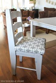 how to reupholster a dining chair seat diy tutorial u2014 the