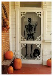 halloween decorations skeletons window decorations halloween costume ideas 2016 hanging man cling