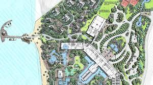 master plan banana beach resort hotel bar restaurant in santa fe