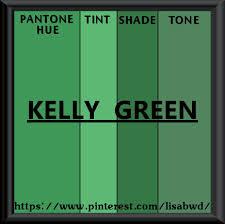 pantone seasonal color swatch kelly green my pantone seasonal