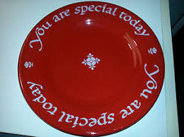 you are special plates you are special today collectible 1979 original plate company