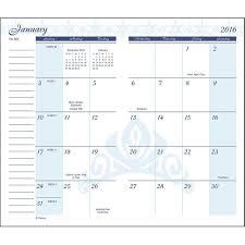 free printable planner calendar 2016 8 best images of 2016 pocket planner calendar free printable free