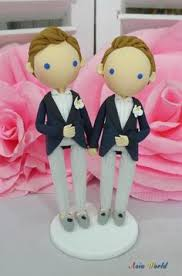 same wedding toppers wedding cake topper clay doll in navy blue suit same