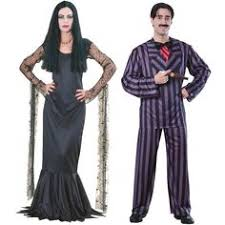 Adam Family Halloween Costumes Addams Family Costumes Happy Macabre Couple