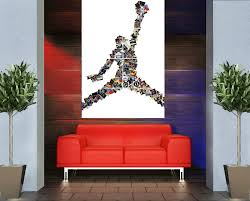 Home Decoration Accessories Wall Art Decorations Basketball Room Decor Basketball Wall Decor Golf