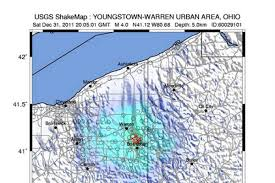 Map Of Youngstown Ohio by Confirmed Fracking Practices To Blame For Ohio Earthquakes Nbc News