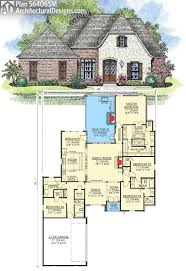 french country house plans open floor acadian sqft bedroom best