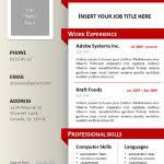 Powerpoint Resume Resume Template Powerpoint Resume Template Powerpoint Ideas