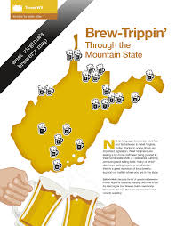 West Virginia Map With Counties by Virginia Breweries Map Virginia Map