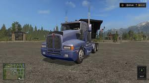 2016 kenworth t600 kenworth t600 semi v1 1 0 0 for ls 17 farming simulator 17 mod