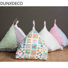 cuscino per leggere a letto dunxdeco creativo realizzati a mano in cotone e lino tablet
