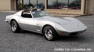 73 corvette stingray for sale 1973 silver corvette 4spd manual transmission stingray for sale