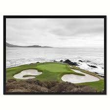 pebble beach ca golf course photo canvas print pictures frames