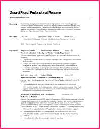 professional summary exle for resume summary exles for resume bio letter format