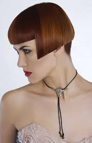 ultra short bob hair hairxstatic angled bobs gallery 7 of 8