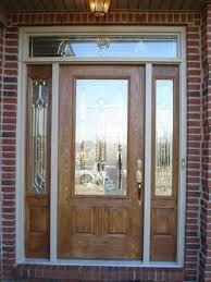 glass front door window treatments