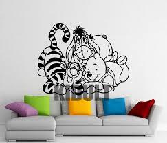Winnie The Pooh Wall Decals For Nursery Winnie The Pooh Wall Sticker Eeyore Tigger Piglet Vinyl