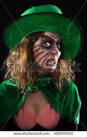 portrait green goblin isolated on stock photo 482678254
