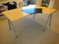 Galant Corner Desk Ikea Ikea Galant Corner Desk Office Desks U0026 Tables For Sale Gumtree