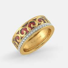 gold band ring band rings buy 150 band ring designs online in india 2017