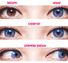 colored contacts halloween edmonton in simple super blue pink