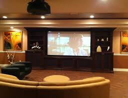 Home Movie Theater Wall Decor Living Remarkable Home Movie Theater Rooms Ideas By Large Screen
