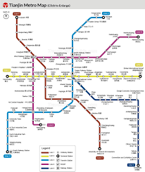 Metro North Maps by Tianjin Metro Map Lines Light Rail Subway Planning Map
