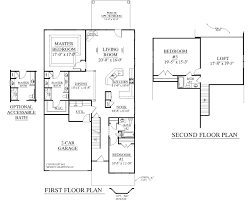 5 Story House Plans by 1 Story Open One Story Floor Plans Crtable
