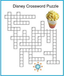 easy crossword puzzles about movies disney crossword puzzles kids printable crossword puzzles