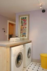Laundry Room Decorations For The Wall by Laundry Room Cool Yellow And Gray Laundry Room Ideas The