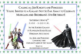 Invitation Cards For 40th Birthday Party Star Wars Birthday Party Invitations Cards Best Free Star Wars