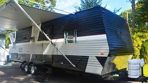 beautiful watermill renovated and transformed travel trailer