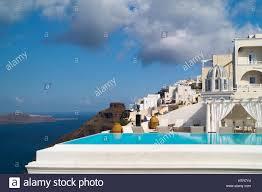 Beautiful Balcony Beautiful Balcony With Sea View At Aegean Sea Greece Stock Photo