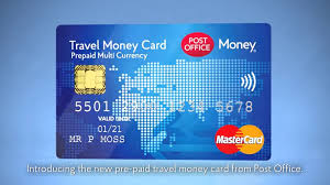 prepaid international debit card post office travel money card customers warned to think at