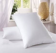 amazon com luxury down pillow 500 thread count cotton