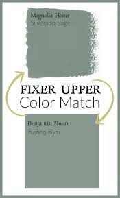 fixer upper paint color matched to benjamin moore the