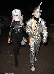 Tin Man Costume Holly Willoughby Throws Leather Jacket Over Unicorn Daily