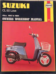 amazon in buy suzuki cl50 owner u0027s workshop manual book online at