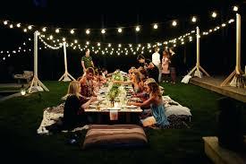 commercial outdoor string lights led backyard lighting walmart
