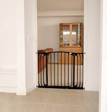 Child Proof Gates For Stairs Amazon Com Dreambaby Chelsea Extra Wide Auto Close Security Gate
