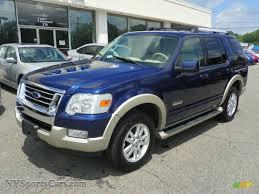 Ford Explorer Models - 2006 ford explorer eddie bauer 4x4 in dark blue pearl metallic