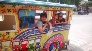 philippines jeepney inside jeepney boodle fight maginhawa street sikatuna village the