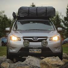 lifted subaru xv 2014 subaru xv crosstrek overland build ok4wd