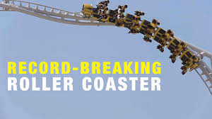 roller coaster abu dhabi speed flying aces the record breaking roller coaster at